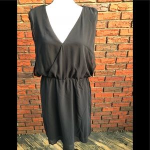 NWT Black Tape chiffon dress